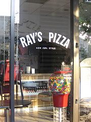 A Nice Picture Of A Empty Ray's Pizza, Which Strangely There Are Like Million Of Them In Nyc
