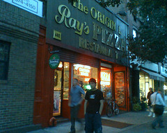 Grabbing A Bite To Eat At The Famous Ray's Pizza!