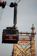 A Reverse Look At The View From The Roosevelt Island Tramway.