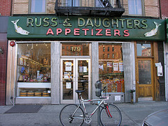 The Russ & Daughters Store Found On Houston Street In The Lower East Side Of Nyc