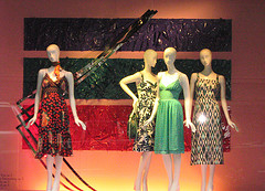 Showing Off The Skills Of The Window Designers At Saks Fifth Avenue.