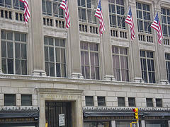The Flagship Store Of Saks Fifth Avenue On The Island Of Manhattan In Nyc