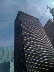 The Architecturally Influential Seagram Building Was Completed In 1958.