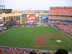 Gone, But Not Forgotten.  Shea Stadium On A Perfect Afternoon.