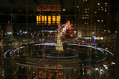 Swirl Of Excitement At The Shops At Columbus Circle
