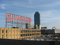 A Photo Of Silvercup Studios, A Historic Film And Television Studio In New York City.