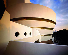 Solomon R. Guggenheim Museum Designed By Frank Lloyd Wright Also Known As The Guggenheim.
