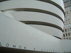 The Solomon R. Guggenheim Museum Is A Stunning Example Of Frank Lloyd Wright's Architecture.