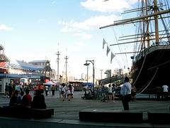 Summertime On The Dock, South Street Seaport