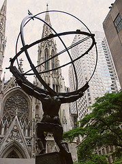 Faith Can Move Mountains At St. Patrick's Cathedral.