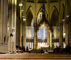 Inside The St. Patrick's Cathedral, Which Was Built In 1808, Not Bad For A 200 Year Old Church