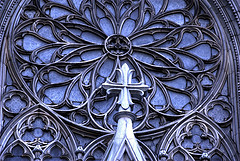 A Look At The Amazing Detail On The St. Patrick's Cathedral.