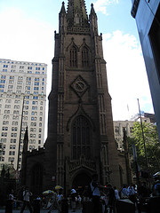 The  St. Paul's Chapel. Built In 1766, It Was Used As A Makeshift Shine For 9/11 Victims
