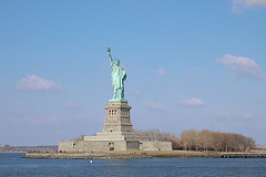 The Full Statue Of Liberty Build Many  Years Ago By A People Who Believed In Their Rights