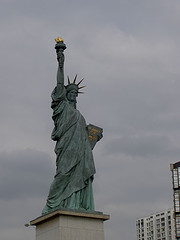 The Statue Of Liberty Standing Tall And Proud In New York