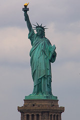 Statue Of Liberty, Gift From French, American Symbol