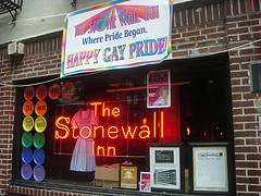 Stonewall Inn, Site Of The 1969 Stonewall Riots Which Began The Modern Gay Rights Movement