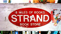 Antique Sign Advertising The Strand Bookstore In Greenwich Village.