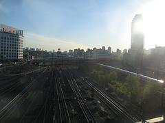 Good Morning Sunnyside Yard! New York Loves You