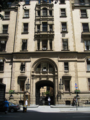 The Dakota Hotel Which Was The Site Of The Shooting Death Of John Lennon In 1980