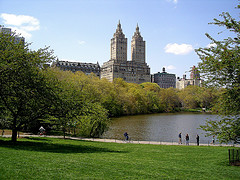 Beautiful View Of The Dakota, A Compartment Complex Located In New York