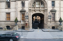 The Gated Entrance Of The Dakota