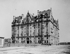 The Dakota Circa 1890 Long Before It Was Famous For Its Tenets It Was Known For Its Architectural Beauty,