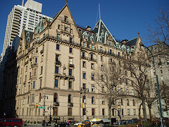Famously Associated With John Lennon, The Dakota Sits On The Corner Of 72nd Street And Central Park West.
