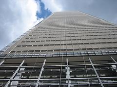 The New York Times Building Has 52 Floors And Stands 1,142 Feet Tall.