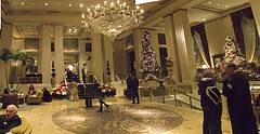 Park Avenue Foyer Of The Waldorf-Astoria Hotel