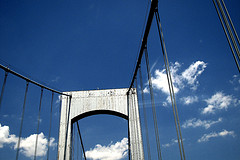 Throgs Neck Bridge, Opened On January 11, 1961, It Is The Newest Bridge Across The East River
