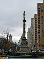 Looking At Columbus Circle, Time Warner Is Located On The West Side Of This Famous Landmark.