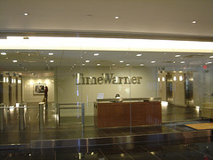 Lobby Of The Time Warner Center Located In Midtown Manhattan.
