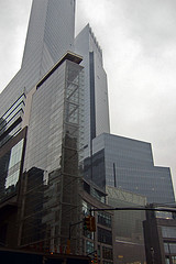 Looming Photograph Of Time Warner Center Developed By The Related Companies In New York