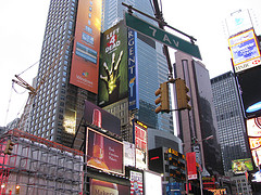 Spectacular Digital Advertisements Dazzle The Eye In Times Square.