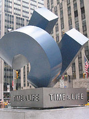 The Iconic Time & Life Statue Outside Time Life Building