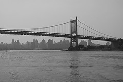 The Amazing Triborough Bridge Over The River