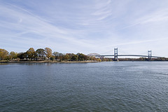 Peaceful View Of The Triborough Bridge.(now Known As The Robert F. Kennedy Bridge)