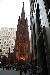 The Tower Of Trinity Church, Built In 1846, Contains 23 Bells.