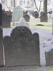 The Grave Site Of John Wood, Poor Guy Died At 67 Buried At Trinity Church Cemetery