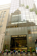 The Outer View Of Trump Tower