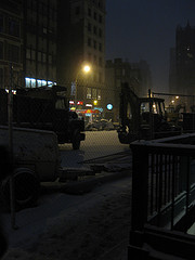 Far Away Photograph Of Non-glorified Life At Union Square
