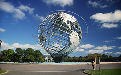 A Symbol Of The 1965 World's Fair, The Unisphere Represents Global Interdependence.
