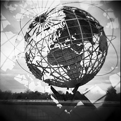 Unisphere Is Shown All Country In The World