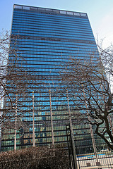 United Nations Headquarters Is Very Attractive Building And Fulfill With Glass Decoration