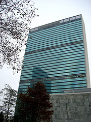 A Pristine Looking United Nations Headquarters.