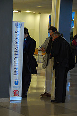 United Nations Headquarters - Searching The People's Directory.