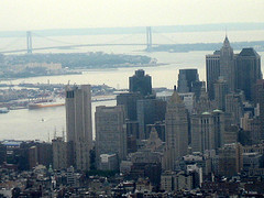 The Verrazano-narrows Bridge, Viewed Here, Is Famous For Its Photographs Of Runners In The Nyc Marathon.