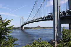The Verrazano-narrows Bridge Is Narrow But Its Quite Long