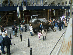 Perfect Place For A Bull: Wall Street